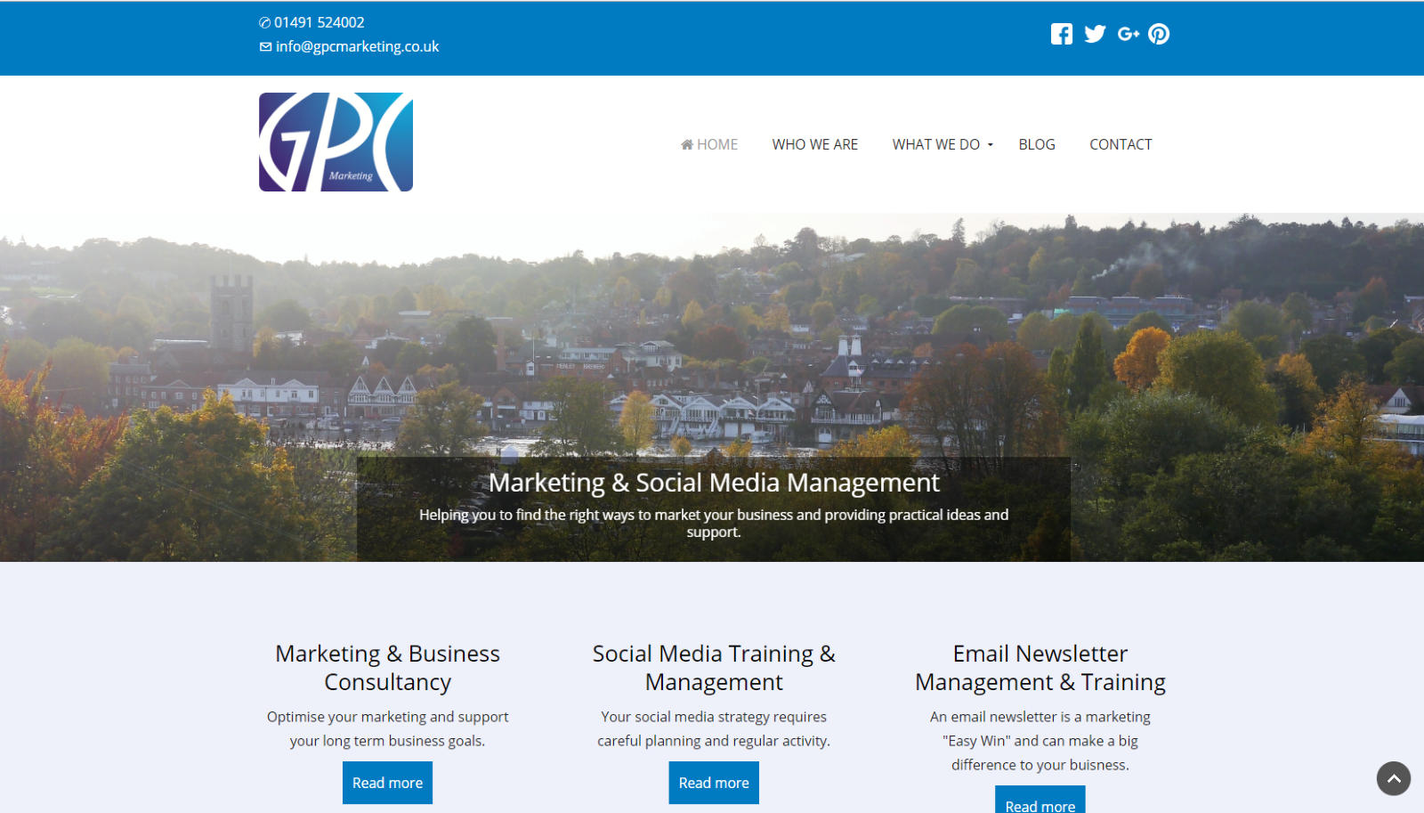 GPC Small business Website Henley