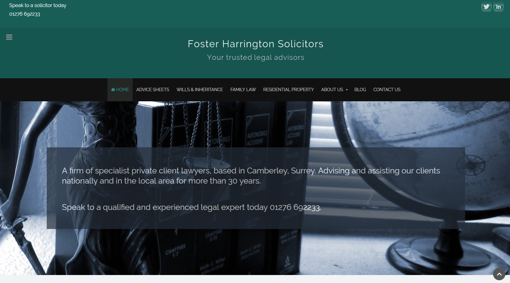 Legal Website Camberley
